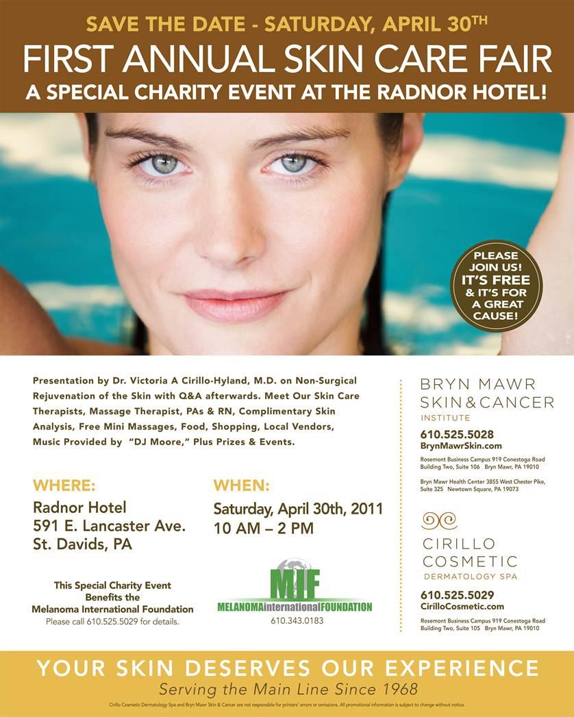 Skin care fair at the radnor the radnor hotel for A skin care salon