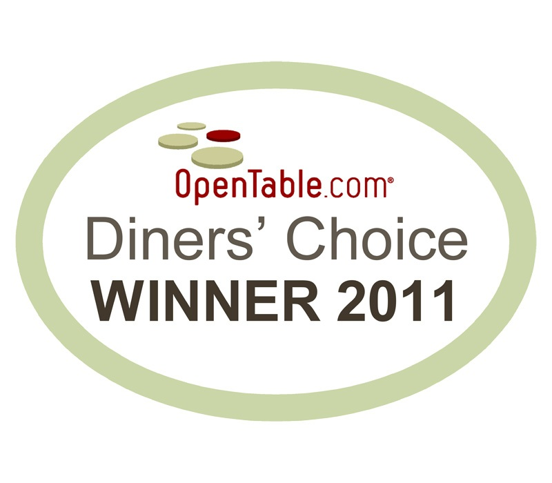 Diners choice winner 2011 the radnor hotel for 0pen table