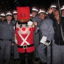 Toy Solider with Valley Forge Military Chorale
