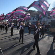 Radnor High School color guard