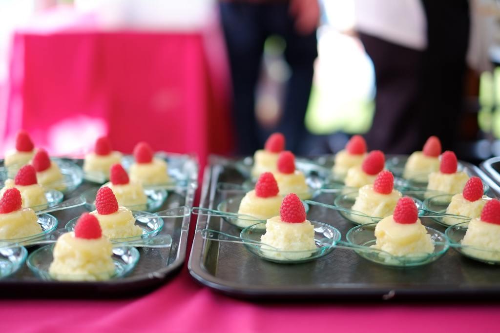 Steamed Lemon Pudding Cake samples – Main Line Hotels