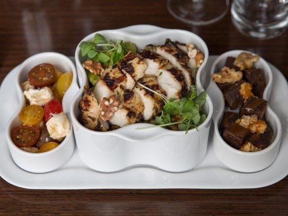 Cavatelli with Chicken, Pesto, Walnuts at Paramour, Wayne Hotel Restaurant