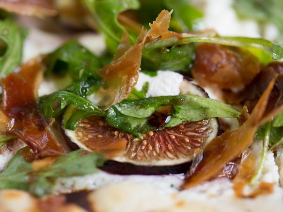 Fig, Goat Cheese, Prosciutto Flatbread at Paramour, Wayne PA