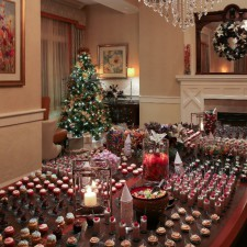 Holiday Desserts and Decor in the Salon at Paramour, Wayne