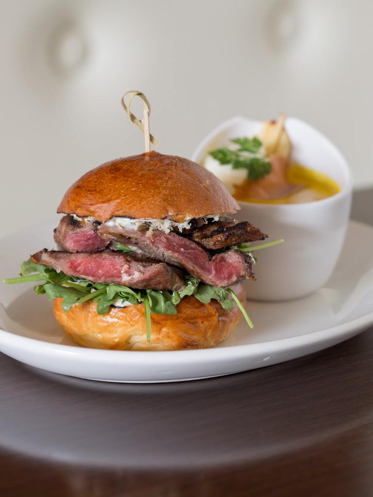 Grilled Ribeye Sandwich at Paramour