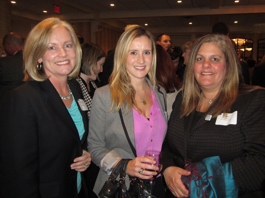 Mary Pat Sherry, Hillary Kane and Karen Phillips of AmeriHealth Caritas