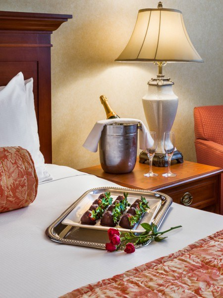 The Radnor Hotel's Sweet Valentine's Package