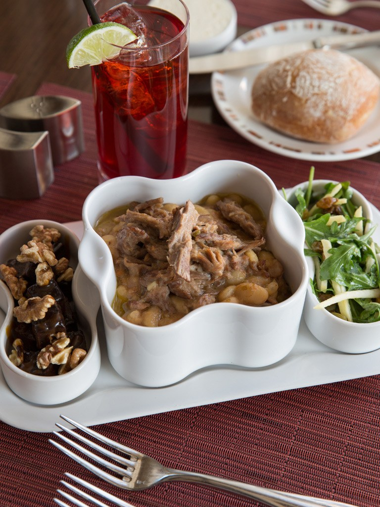 Cannellini Bean Stew with Lamb at Paramour