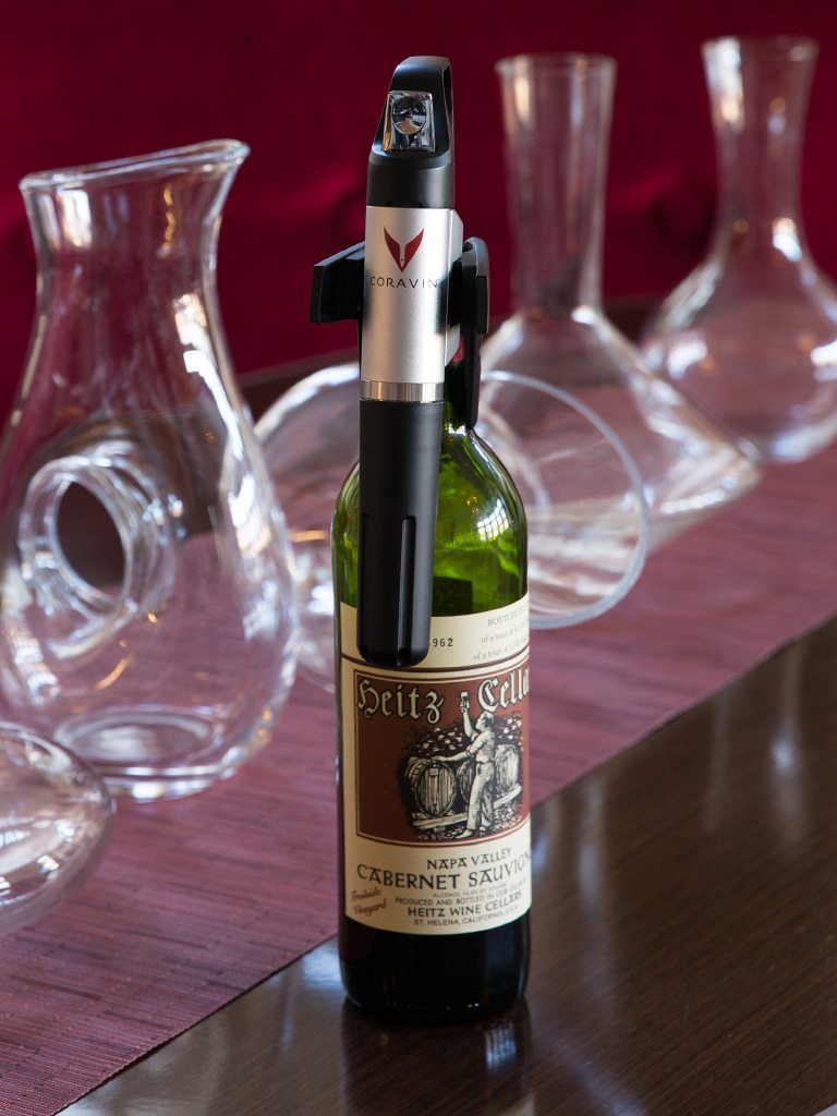 Coravin wine pours at Paramour