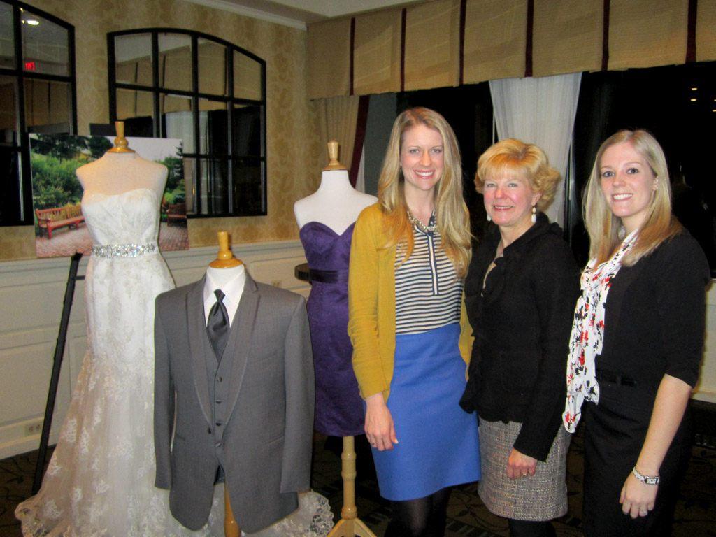 Rebecca Richman of Rebecca Richman Events and Trish Burkholder of The Country Bride & Gent with Laruen Thomas of The Radnor Hotel