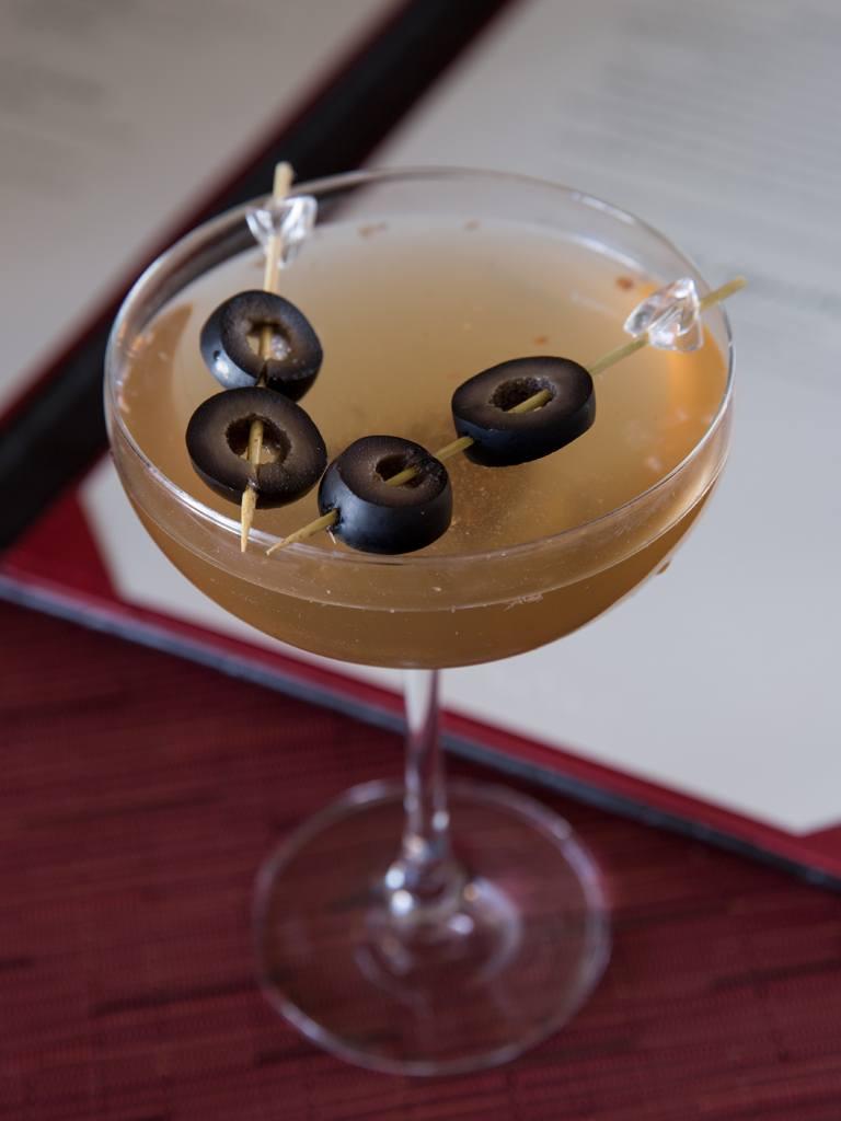 Muddy Pothole Martini at Paramour