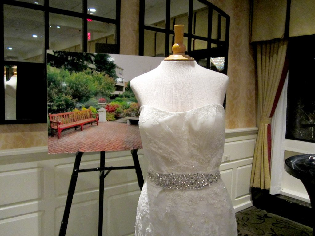 Wedding dress from The Country Bride & Gent