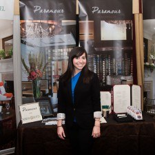 Grace Wilson, Paramour's Special Events Sales Manager spoke with guests at The Radnor's Wedding Open House about weddings at Paramour and the Wayne Hotel, Photo Credit: Larmon Studios