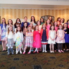 Rosebuds and Petals at The Philadelphia Rose of Tralee Mother Daughter Tea Party