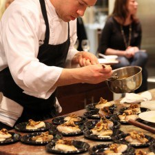 Paramour's Executive Chef Drew Stark at Wayne Art Center's Tastes of the Town