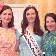 Sarah Conaghan, founder and Managing Director of the Philadelphia Rose of Tralee Center, Brittany Killion, 2013 Philadelphia Rose of Tralee and Margaret King, Coordinator of the Philadelphia Rosebud & Rose Petal Program