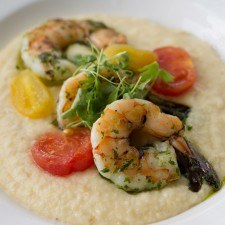 Shrimp and Grits at Paramour
