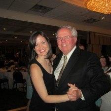 2012 Philadelphia Rose Elizabeth Spellman with her Dad