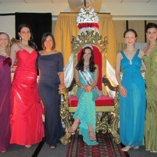 2013 Philadelphia Rose with 2014 Rose Contestants, Jessica Greene, Michelle Catagnus, Caroline O'Neill, Christine Bonney, Maria Walsh