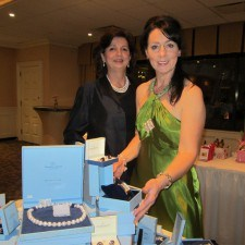 Barbara McGrenra Doerr and Kathleen Regan of Newbridge Silverware