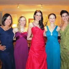 Philadelphia Rose contestants, Caroline, Jessica, Michelle, Christine, and Maria