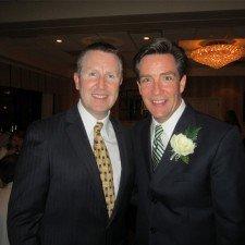 David Brennan of Wayne Hotel and Jim Donovan of CBS 3 Philadephia