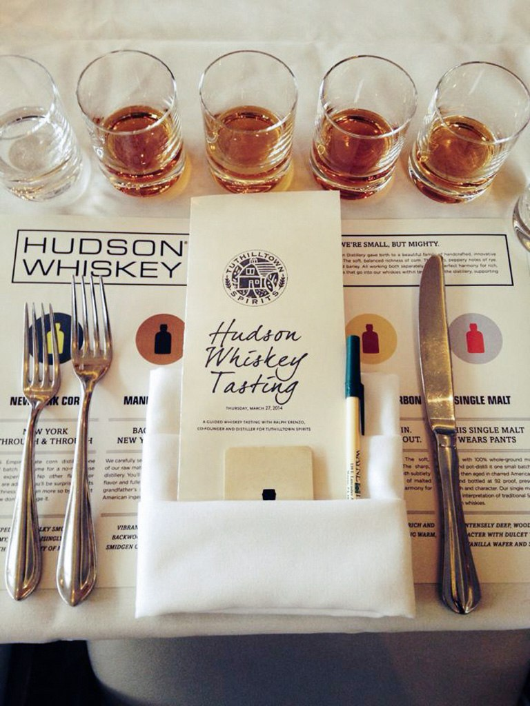 Hudson Whiskey Tasting at Paramour
