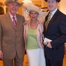 John Harkins, Diane Jiorle, David Brennan (General Manager of Wayne Hotel)