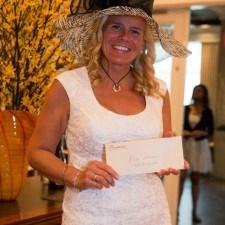 Women's Best Dressed 1st Place Winner Dr. Charlene Alouf