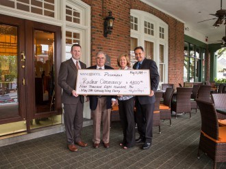 3rd Annual Kentucky Derby Party Check Presentation to Radnor Conservancy