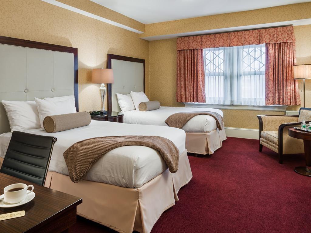 Wayne Hotel's Double Double Deluxe Guest Room