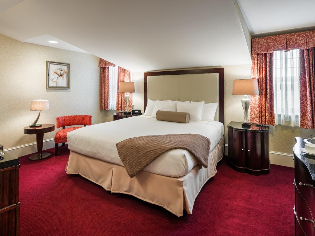 Wayne Hotel's Lengel Suite Bedroom