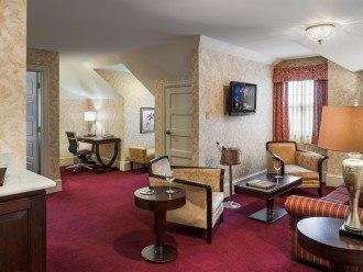 Wayne Hotel's Lengel Suite Livingroom