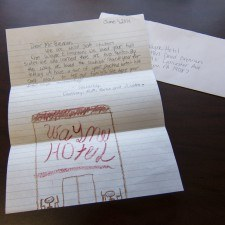 Thank You Letter from WES