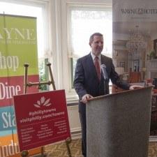 David Brennan, General Manager of the Wayne Hotel