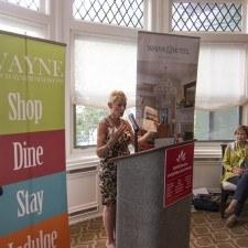 Diane Jiorle, President of the Wayne Business Association