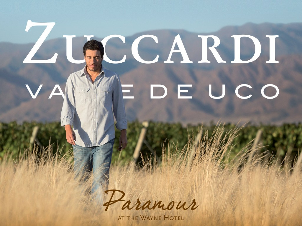 Zuccardi Winemaker Tasting at Paramour with Sebastian Zuccardi