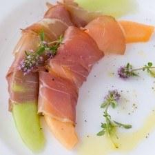 Prosciutto & Melon Plate