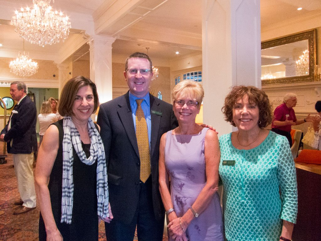 Joslyn Ewart (Entrust Financial), David Brennan (Wayne Hotel), Eleanor Barger (Financial Executive), Carol Jane (Neighborhood League)