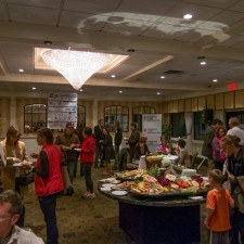 The Packet Pick Up Party for the Radnor Run at The Radnor Hotel