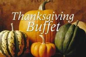 Thanksgiving Buffet at The Radnor 2016