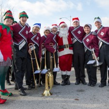 The Santa Parade during Wayne Hotel's Old Fashioned Christmas