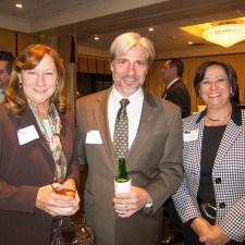 Kathy Groski, Jerry Groski of Groski Engineering, and Representative Marcy Toepel