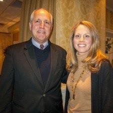 Senator Dominic Pileggi and Kimberly Neeb, Director of Sales for The Radnor Hotel
