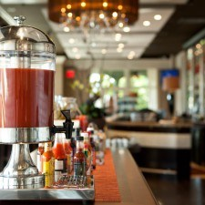 Bloody Mar Bar at Paramour's Brunch