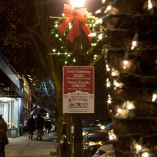 The Christmas spirit was not dampened by the drizzling rain as the community of Wayne kicked off the annual Wayne Hotel's Old Fashioned Christmas