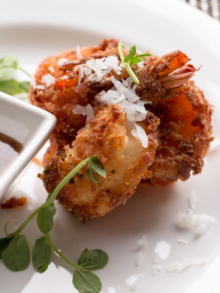 Coconut Crusted Jumbo Shrimp