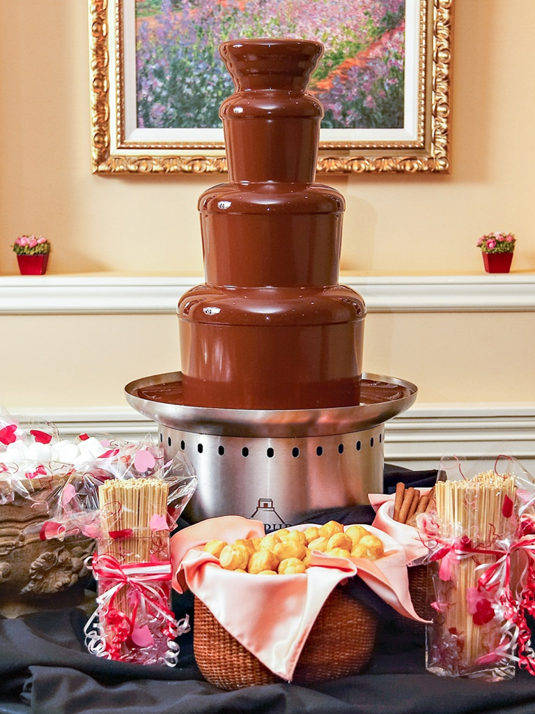 Premium Belgian Chocolate Fountain