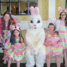 Children's Tea with the Easter Bunny 2014