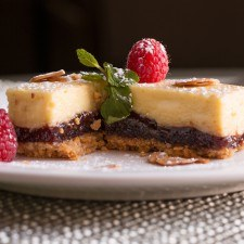 Limoncello & Raspberry Cheesecake